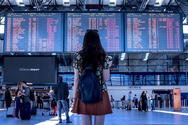cestovní ruch, letiště